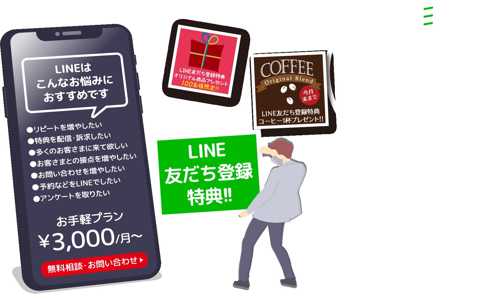 LINE友だち登録特典!!7月31日まで